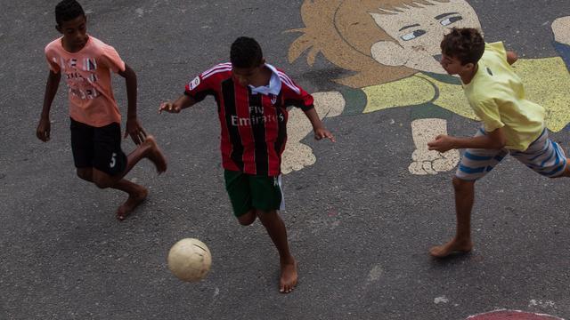 Nederlandse docu over voetballende straatkinderen naar Kroatië