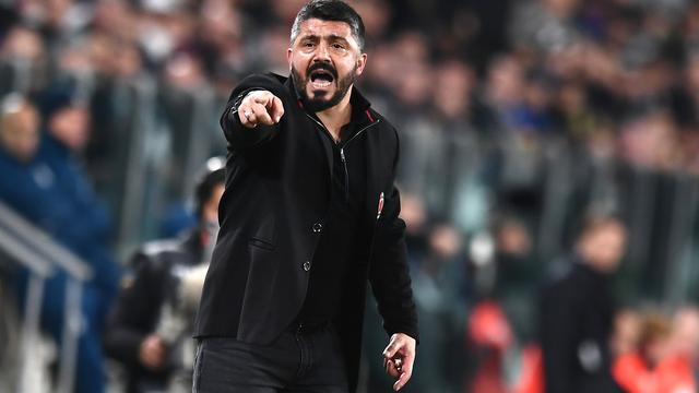 AC Milan verlengt contract trainer Gattuso tot medio 2021