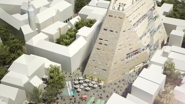 Plannen voor Nieuwe Markt rondom Groninger Forum te zien