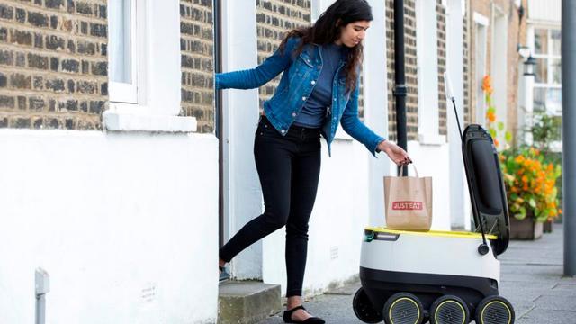 Just Eat gaat robots inzetten voor thuisbezorgen van maaltijden