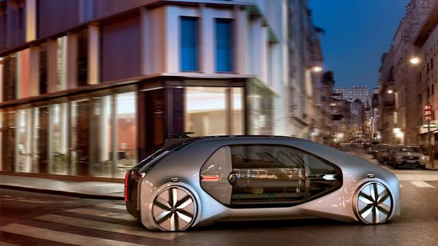 Renault Designer Autonomous Shared Car Can Be A Business Card Of The City Teller Report