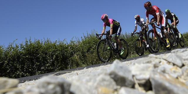 Massasprint zevende Touretappe door ogen van renners