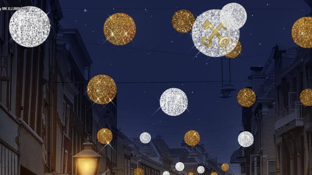 Nieuwe duurzame sfeerverlichting voor binnenstad