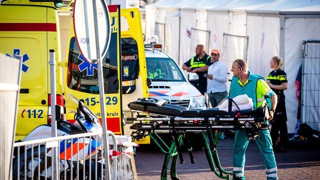 Activiteiten Scheveningen versoberd na dodelijk ongeval.