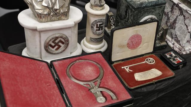 75 originele nazi-voorwerpen gevonden in Argentijns huis