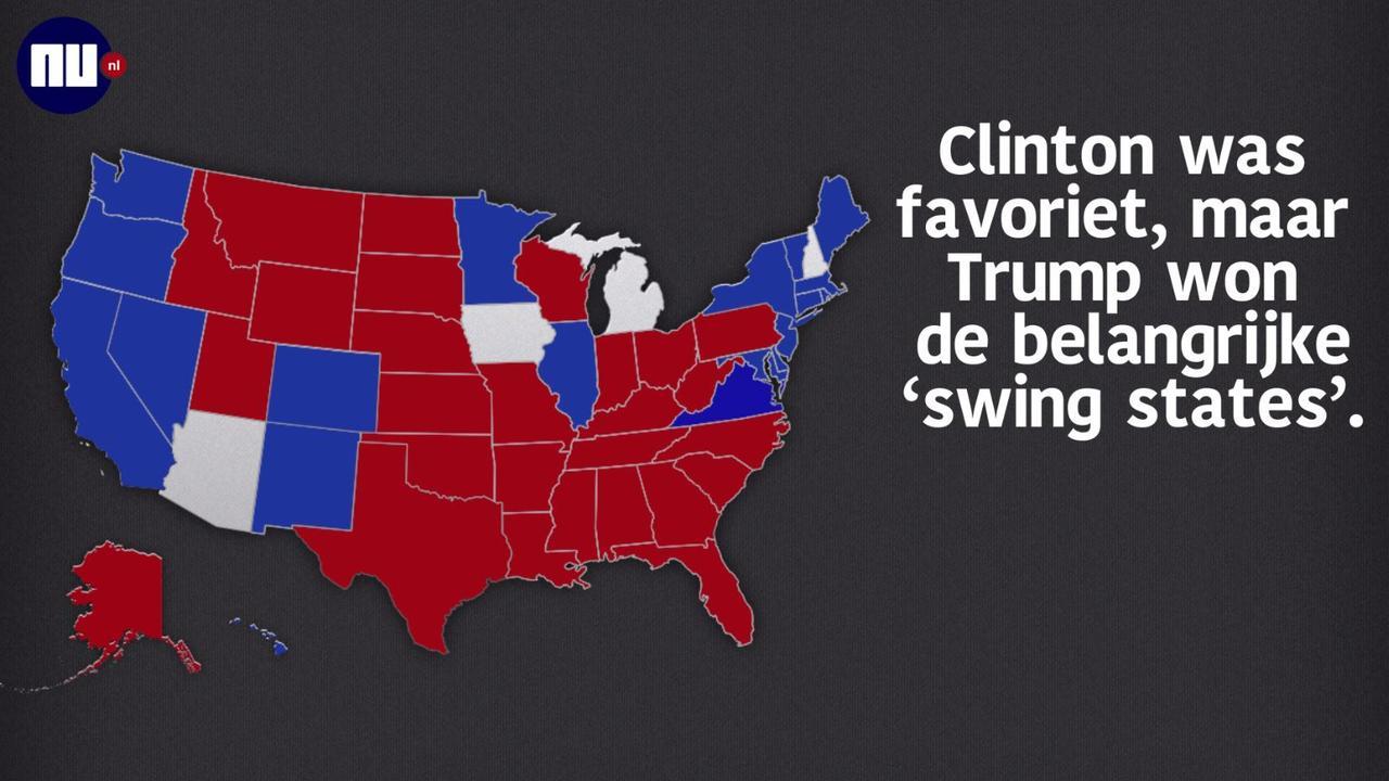 Donald Trump wint Amerikaanse verkiezingen | NU - Het ...