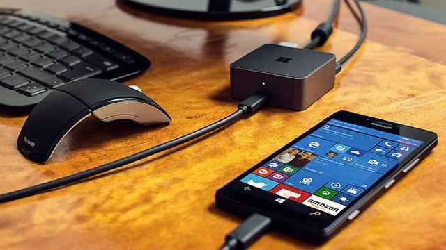 Continuum-dock voor Windows 10-telefoons gaat 99 dollar kosten