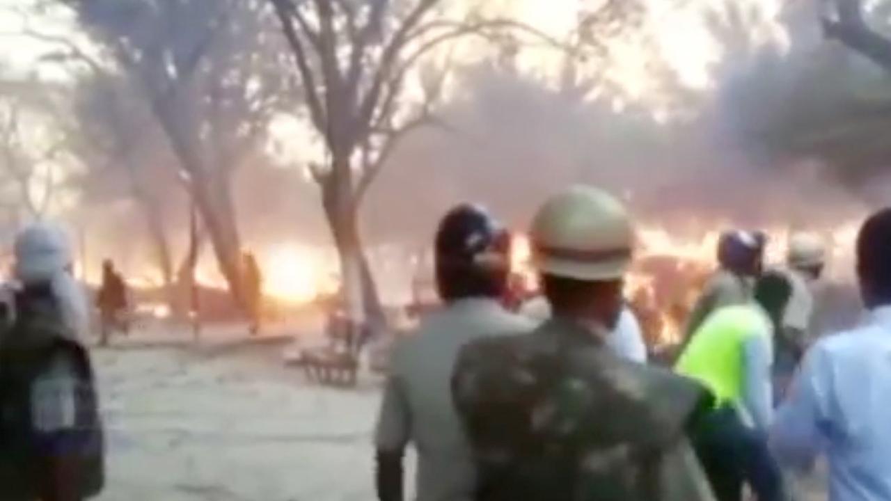 Zeker zeventien doden bij ontruiming park India