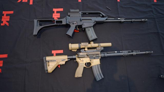 Duitse wapenexport verdubbeld vorig jaar