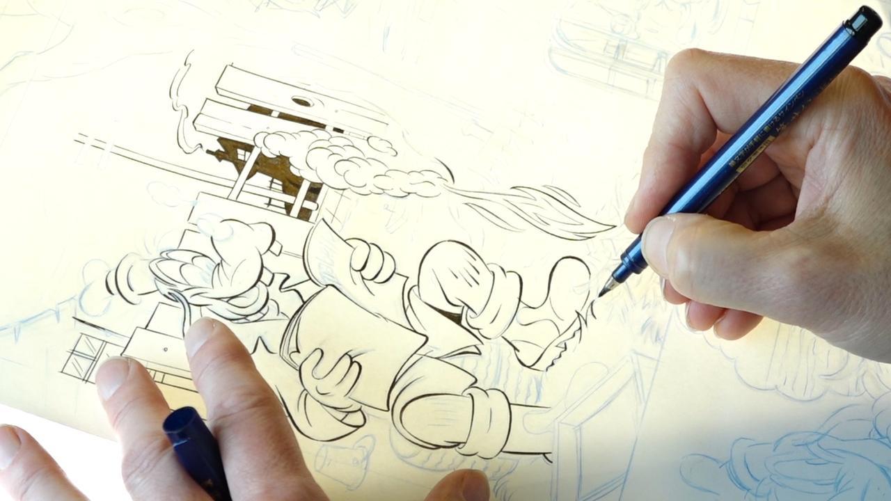 Na 65 jaar wordt de Donald Duck 'gewoon nog met de hand gemaakt'