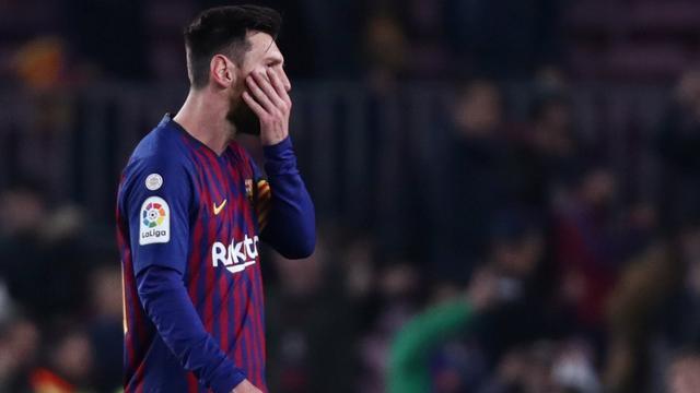 Barcelona-coach Valverde prijst 'beslissende' invaller Messi in Clásico