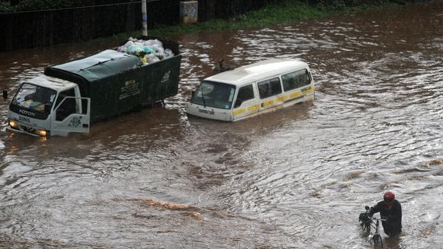 Doden en gewonden na instorten flatgebouw in hoofdstad Kenia