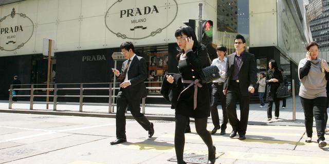 Fors minder winst voor Prada na zwakke verkoop in China