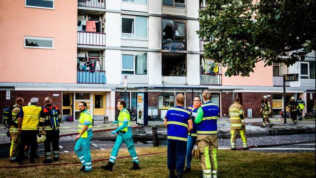 Verdachte van doden vrouw in brandende flat Utrecht blijft langer vastzitten