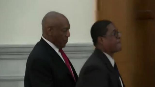 Bill Cosby verlaat rechtszaal na veroordeling in misbruikzaak