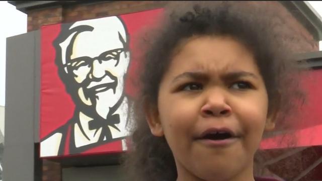 Britten teleurgesteld door sluiting KFC door kiptekort