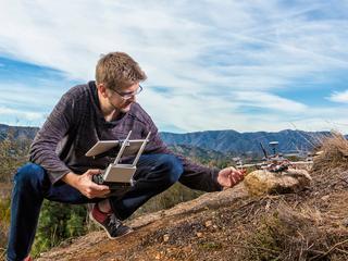 Jeff Norris werkte aan AR-bestuurbare robots voor NASA