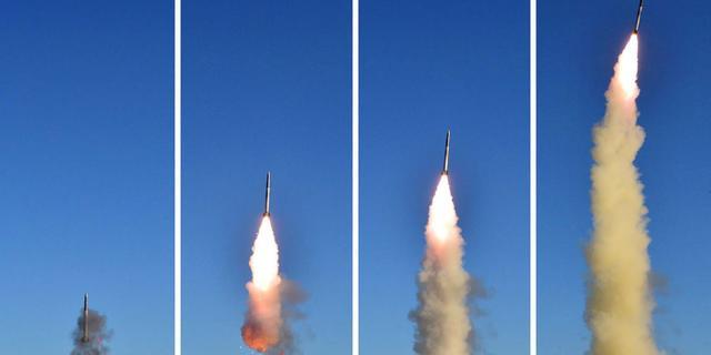 Kim Jong-un aanwezig als supervisor bij rakettest Noord-Korea