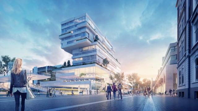 Bouw Het Platform van start: 'mini-stad om te wonen, werken en chillen'
