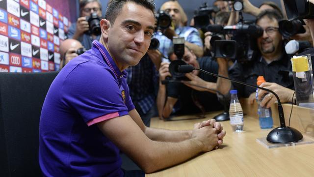 Xavi verruilt FC Barcelona definitief voor Al Sadd