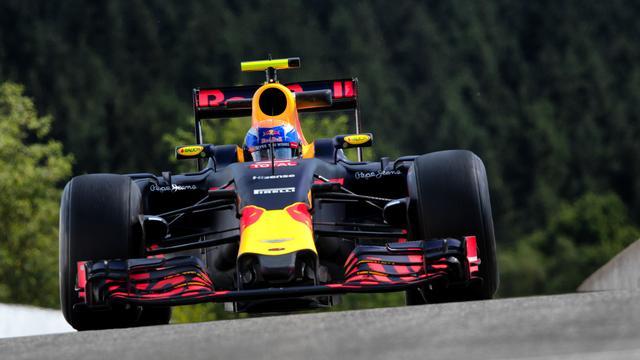 Verstappen snelste in tweede training GP België
