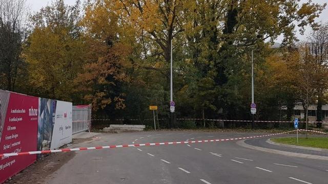Verdacht pakketje Europaplein bevat geen explosieven