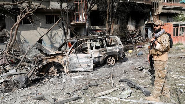 Twintig doden bij aanslag op kantoor Afghaanse vicepresidentskandidaat