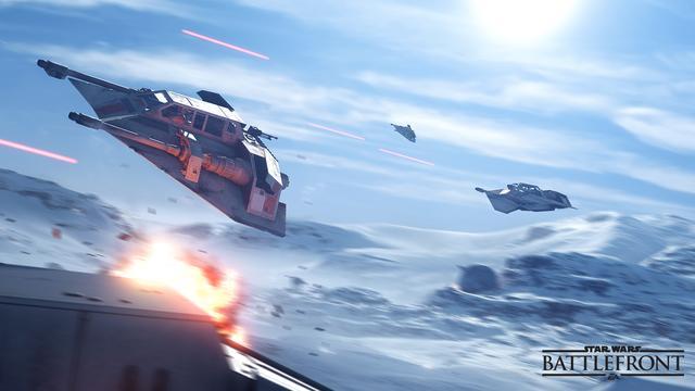 Star Wars Battlefront te spelen met twee teams van tien spelers