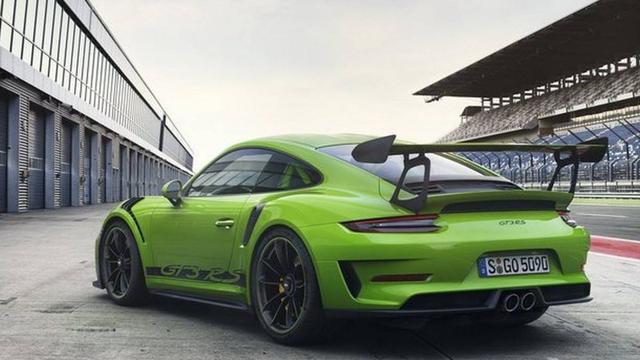 Eerste beelden Porsche GT3 RS gelekt