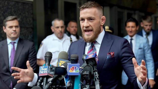 UFC-vechter McGregor opgepakt in Miami Beach wegens wangedrag
