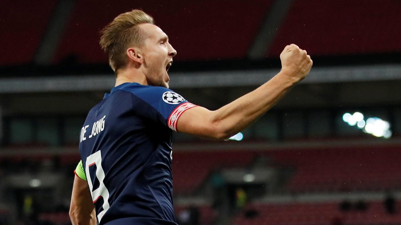 De Jong maakt snelste CL-goal voor PSV ooit