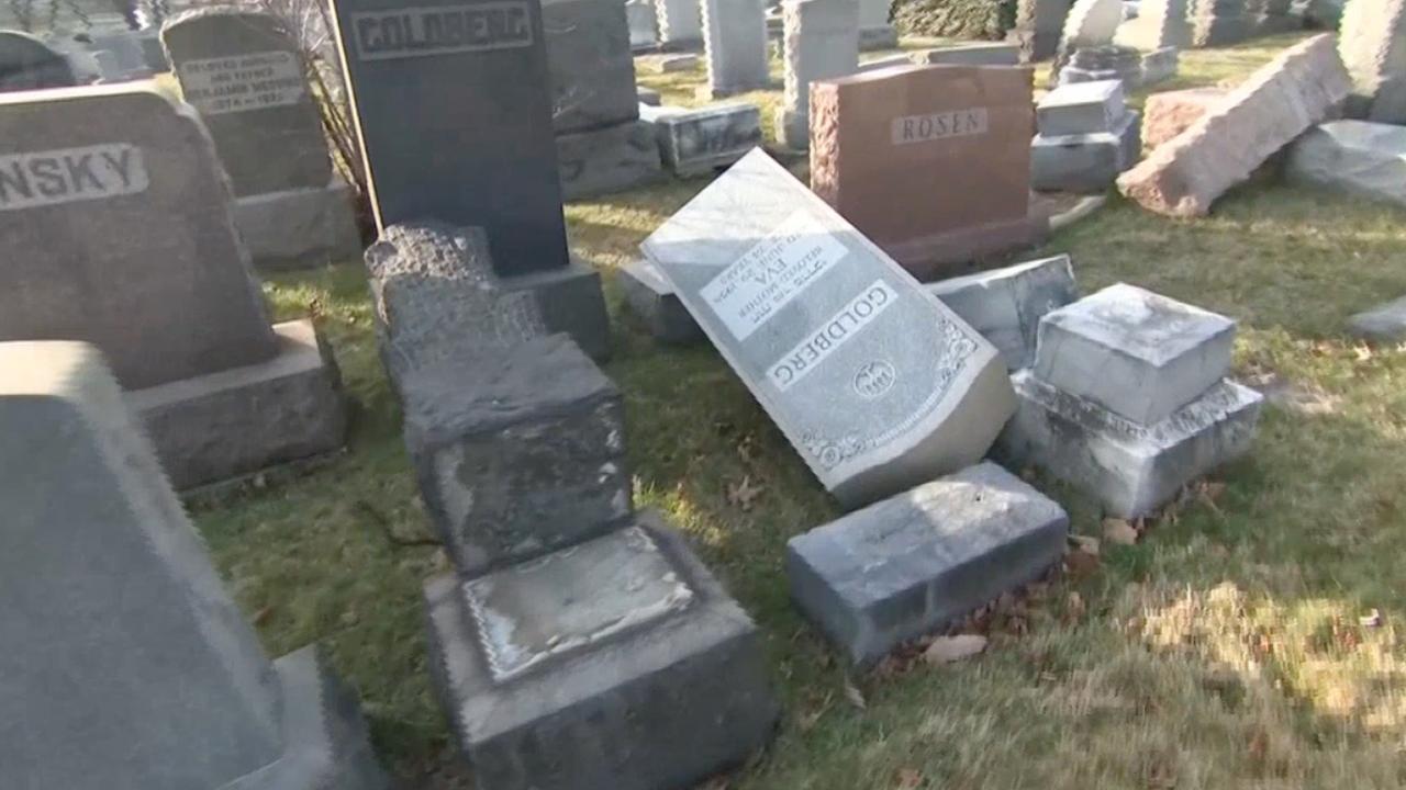 Graven vernield op Joodse begraafplaats in Missouri