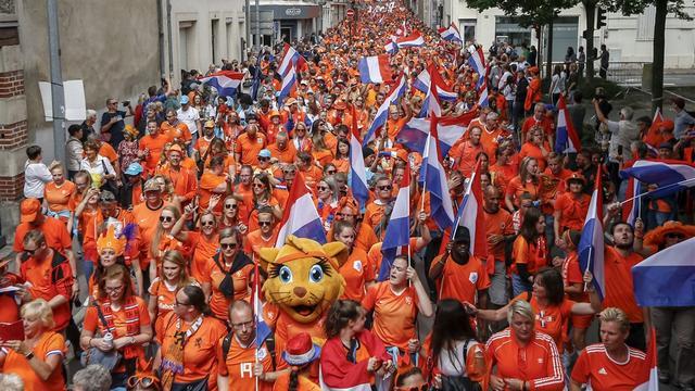 Geen Oranje-parade voorafgaand aan halve finale Nederland-Zweden