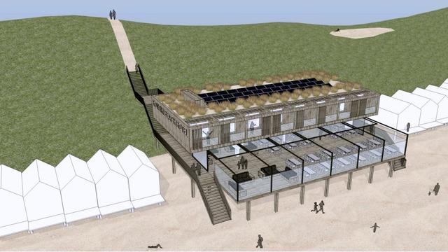 GroenLinks en PvdA willen stop op bouwplan Kon-Tiki