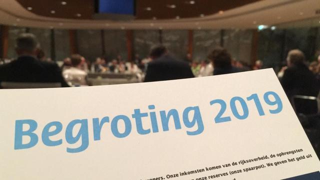 Van Velzen presenteert begroting tijdens Alphense Begrotingsdag