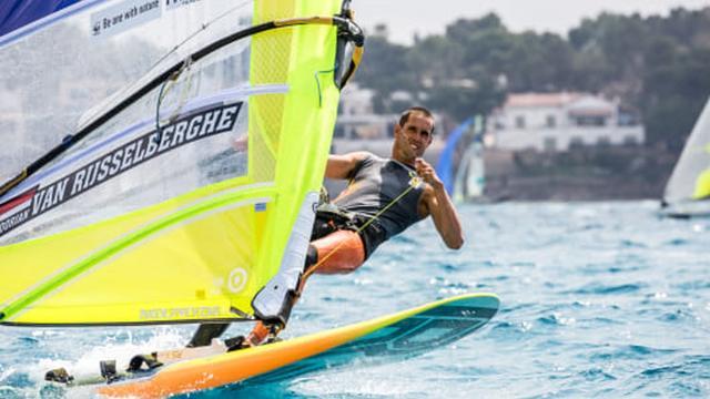 Van Rijsselberghe wint bij rentree eerste wedstrijd olympisch testevent