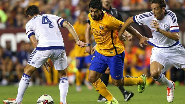 Chelsea na strafschoppen langs Barcelona in oefenduel