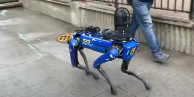 Politie New York stopt met gebruik robothond na golf van kritiek