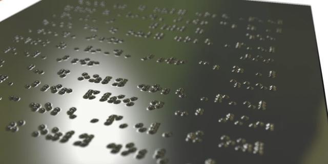 Wetenschappers werken aan betaalbare e-reader voor blinden