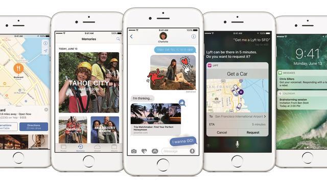 iOS 10 geïnstalleerd op driekwart van iOS-apparaten