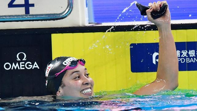 Estafettezwemsters plaatsen zich met plek in WK-finale voor Spelen in Tokio