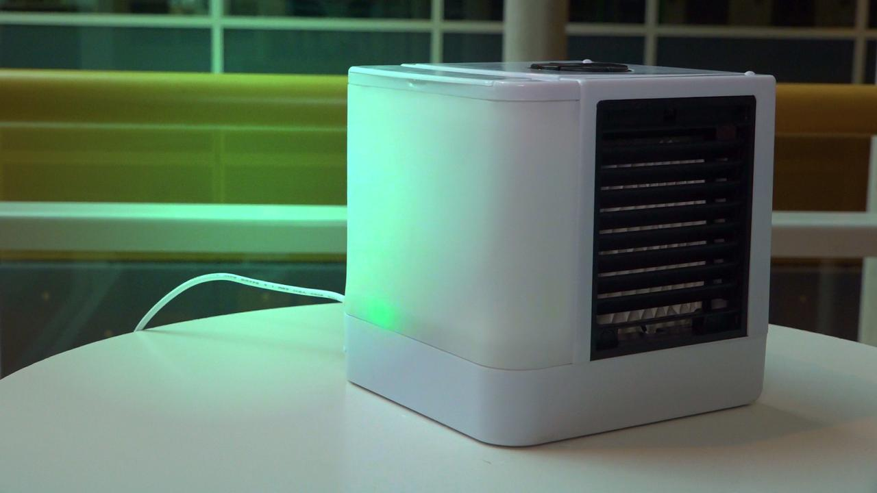 Prul of Praal? Miniairco met discolampen regelt temperatuur