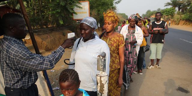 Nieuwe ebola-dode Sierra Leone na opheffen quarantaine
