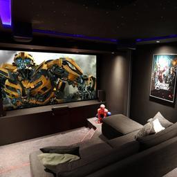 Woonwalhalla's: een volwaardige bioscoopzaal op kamerformaat