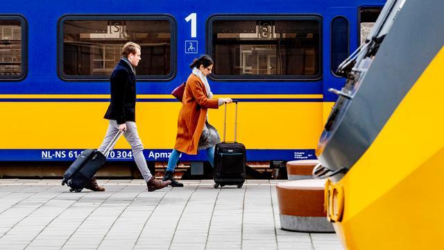 Van 8 tot en met 14 februari geen treinen tussen Leiden en Alphen