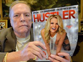 Hustler-oprichter Larry Flynt wil aftreden president bewerkstelligen