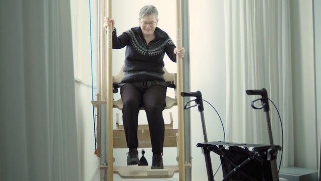 Verticaal 'traplopen' is mogelijk de toekomst voor mindervalide
