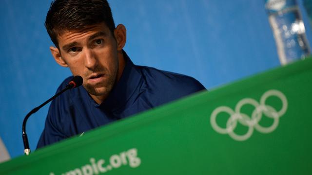 Phelps denkt niet dat hij ooit in dopingvrije zwemsport actief was