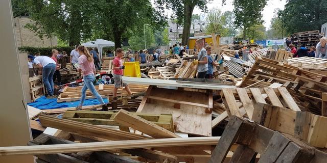 Huttenbouw Alphen aan den Rijn tot een einde gekomen