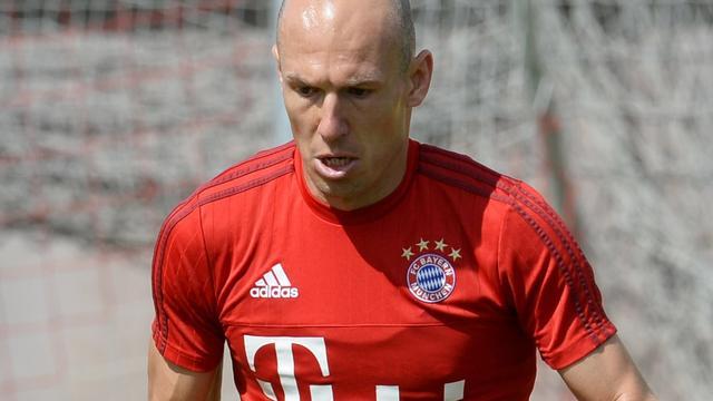 Robben verwacht zaterdag rentree te maken voor Bayern München